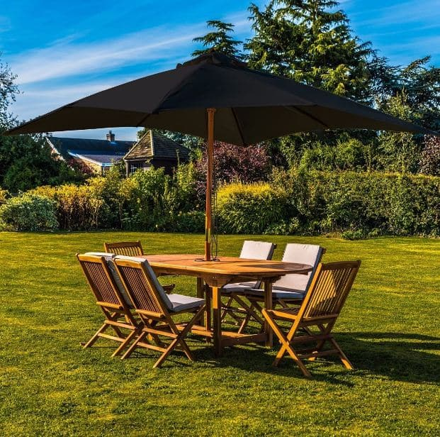 How to Replace Your Garden Parasol Canopy