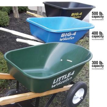 big 4 wheeler wheelbarrow review
