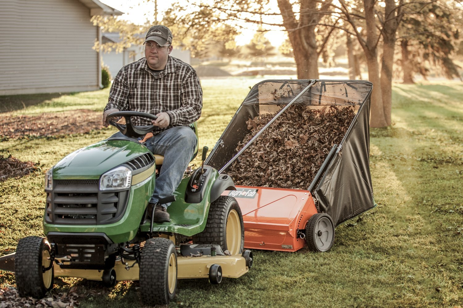 Best Lawn Sweeper for Pine Needles