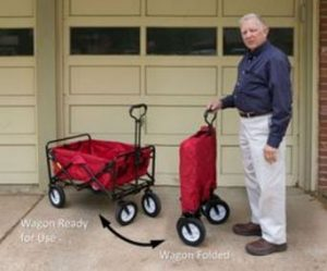 creative outdoor all-terrain folding wagon