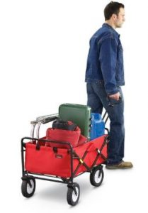 creative outdoor distributor collapsible wagon