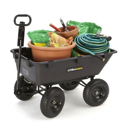 best garden dump cart review