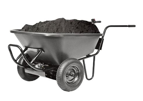 battery powered wheelbarrow