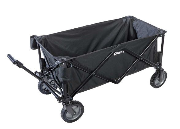 quest folding wagon best garden cart