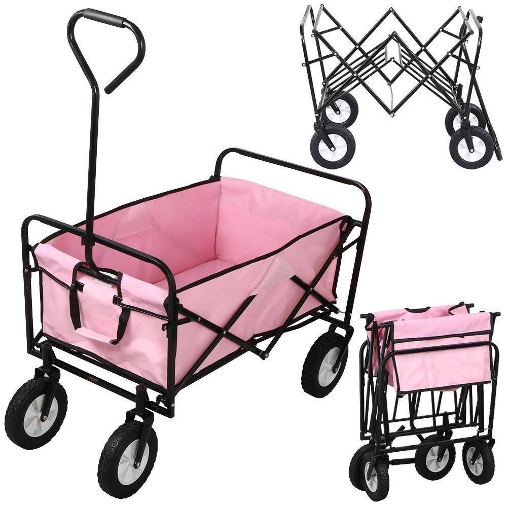 world-pride-folding-wagon-pink wheelbarrow review