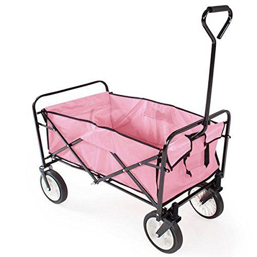 world pride folding wagon/pink wheelbarrow review